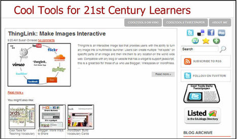 Cool Tools for 21st Century Learners Blog | Vocabulary Instruction | Scoop.it