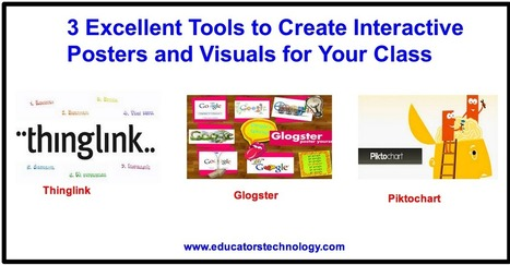 3 Excellent Tools to Create Interactive Posters and Visuals for Your Class | Technology in Education | Scoop.it