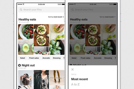 Pinterest's redesigned profiles make it easier to find pins later | Pinterest | Scoop.it