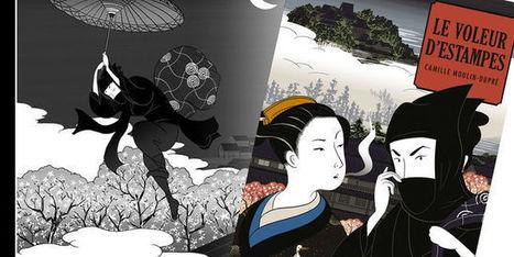«Le Voleur d'Estampes», romance japoniste | littérature jeunesse | Scoop.it
