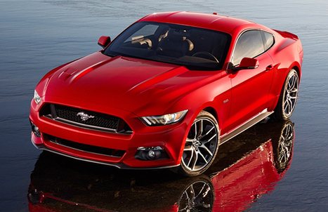 Ford revealed 2015 Mustang officially | AllOnAuto.com | New Cars and Bikes in India | allonauto.com | Scoop.it