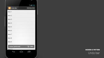 Android UI Patterns: Modern Android UI Patterns   Android Development for all   Scoop.it