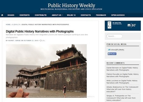 Digital & Public History: Digital Public History Narratives with Photographs | Humanidades digitales | Scoop.it