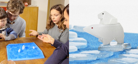 Board game uses melting ice to highlight effects of global warming on animals | Global warming and the extinction of polar bears | Scoop.it