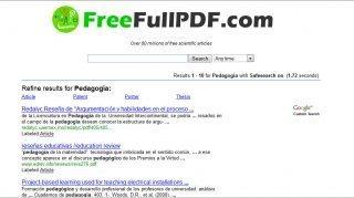 FreeFullPDF: Buscador de artículos científicos en PDF « Los docentes y las TICs | herramientas y recursos docentes | Scoop.it
