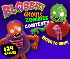 Hot Kids Toy: #Blobbits Giveaway {10 Winners} | Blobbits Moldable Meltable Creature | Scoop.it