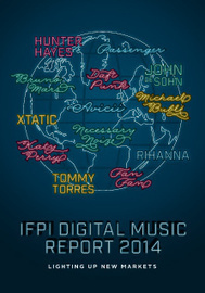 Digital Music Report — IFPI — Representing the recording industry worldwide | Musique et Numérique | Scoop.it