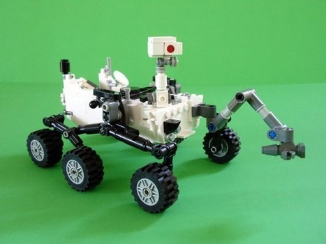 Lego approves fan-made Mars Rover Curiosity set for production [w ... | Lego Mindstorms | Scoop.it