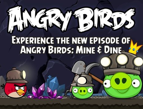 ANGRY BIRDS: MINE AND DINE – BIRDS IN THE DUNGEONS (THE LAST LOCATION)   Angry Birds   Scoop.it