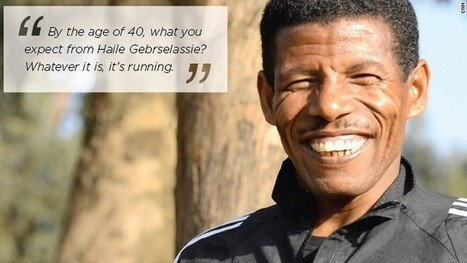 Haile Gebrselassie: I will run until I die | Exercise and Sports Psychology @ Curtin | Scoop.it
