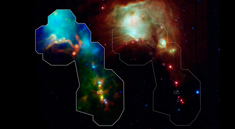 NASA: Herschel Discovers Some of the Youngest Stars Ever Seen | Amazing Science | Scoop.it