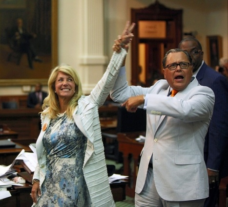 Wendy Davis skewers Texas leadership for ' bullying women , ' vows to keep . . . - Houston Chronicle (blog) | Distributed Leadership | Scoop.it