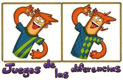 Juegos de las diferencias | Español para los más pequeños | Scoop.it