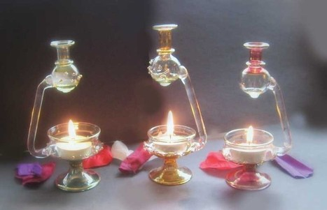 Echoez Of Health Recommends: Egyptian Glass Oil Burner - Assorted | Ancient Health & Medicine | Scoop.it