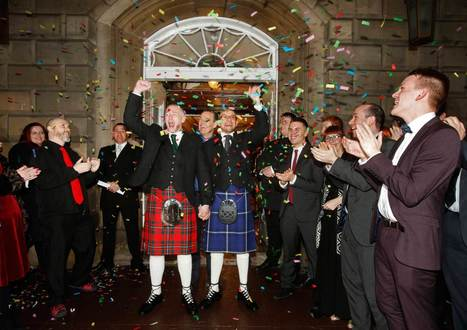 Scotland's First Same-Sex Marriages Take Place on New Year's Eve | enjoy yourself | Scoop.it