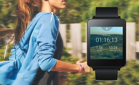 Runkeeper, l'appli GPS disponible sur les montres Android Wear | Hightech, domotique, robotique et objets connectés sur le Net | Scoop.it