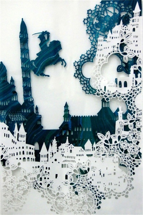 Visual Storytelling Through Intricate Paper Designs | Artistic Development, Globalization, and Environmental Art | Scoop.it