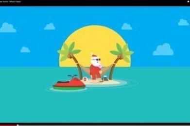 La traque du Père Noël est lancée sur Internet - Sud Ouest | Visite virtuelle Google | Scoop.it