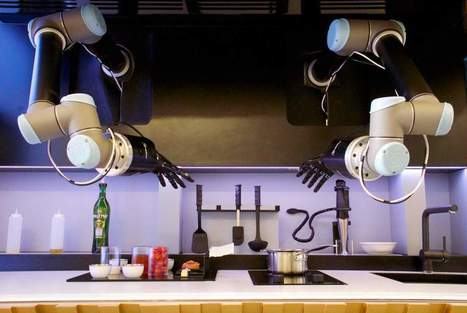 Robot Master Chef COOKS 2,000 Recipes, Cleans Up, Does the Dishes - Industry Tap | Machines Pensantes | Scoop.it