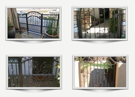 Sacramento, CA Ornamental Iron Gates | Ornamental Iron | Wrought iron fencing | Driveway gate | Scoop.it