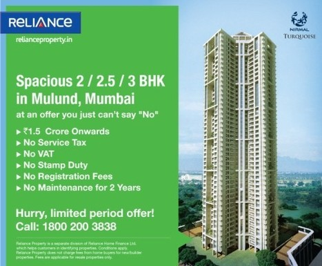 flat for sale in mumba - Reliance Property | real estate | Scoop.it