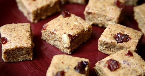 Vegan, Protein-Packed Almond Cherry Chunks of Energy | My Vegan recipes | Scoop.it