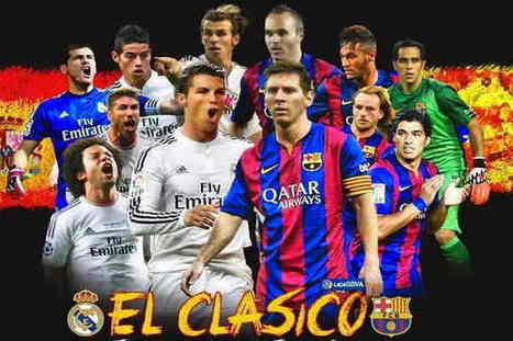 Barcelona Vs Real Madrid Live Streaming | El Clasico Live Stream | bookmark | Scoop.it