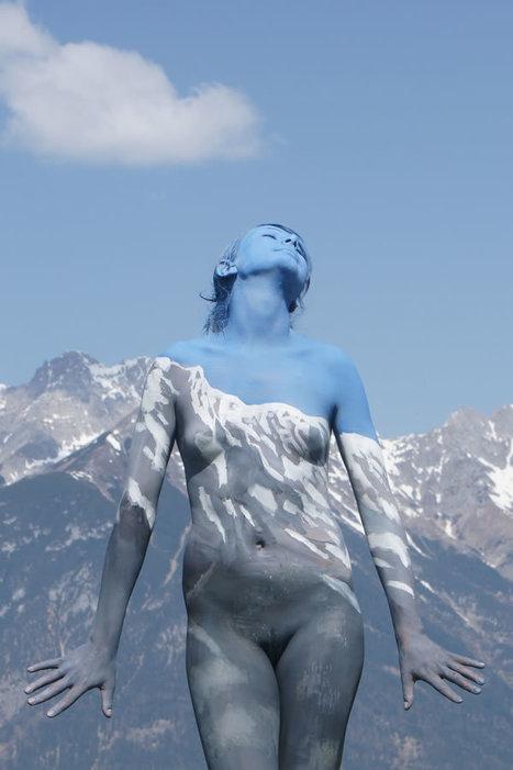 Fine Art BodyPainting Nature-Inspired / Johannes Stötter   Designalmic   Designalmic   Scoop.it