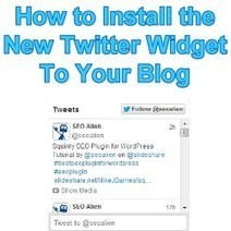 How to Add Your Twitter RSS Feed to Your Blog | Allround Social Media Marketing | Scoop.it