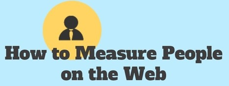 How to Measure People on the Web | Public Relations & Social Media Insight | Scoop.it