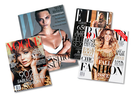 A Look at September Fashion Magazines - New York Times (blog) | Fashion | Scoop.it