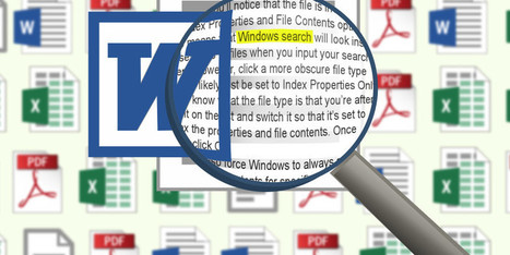 How to Search the Content of Your Files on Windows | Geek Gurl Grinds | Scoop.it