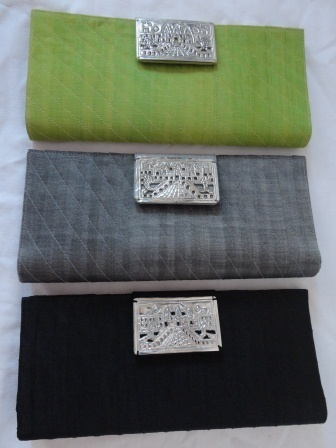 fair trade Cambodia. Fine&soft silk Angkor Image silver clasp Clutches, ethically handmade by disadvantaged artisans group. | Cambodia, Kingdom of Wonders | Scoop.it