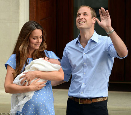Kate Middleton, Prince William & baby Prince visit the queen - MyProffs | myproffs.co.uk - Entertainment | Scoop.it