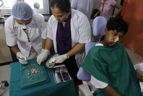 ¡Insólito! le sacan 232 dientes a joven ,romper el récord mundial. | Noticias | Scoop.it