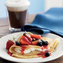 Crepes with Berries and Ricotta | Healthy Meals | Scoop.it