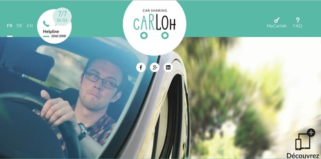 Carloh | CarSharing | Luxembourg | Europe | Luxembourg (Europe) | Scoop.it