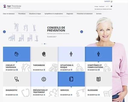 Agir thrombose : nouveau site web sur la thrombose veineuse ou artérielle | Social Media, TIC y Salud | Scoop.it