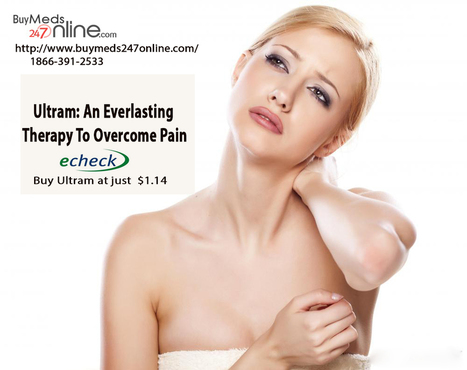 Buy Ultram: An Everlasting Therapy To Overcome Pain | Genric Medicine | Scoop.it