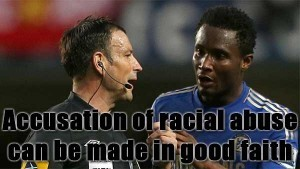 FA Rules That Accusations Of Racial Abuse Can Be Made In Good Faith   News From Stirring Trouble Internationally   Scoop.it