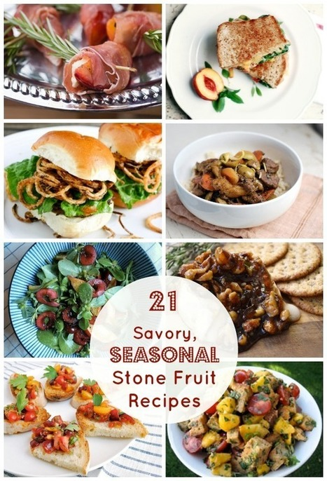 21 Savory Recipes Made with Peaches, Apricots, Plums & More! - Babble | ♨ Family & Food ♨ | Scoop.it