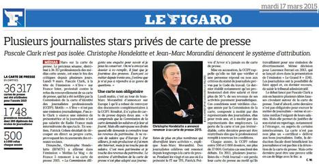 Plusieurs journalistes stars privés de carte de presse | DocPresseESJ | Scoop.it