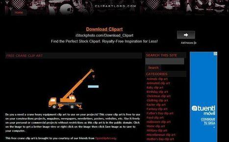 ClipArtLord, gran colección de cliparts gratuitos para usar libremente en cualquier proyecto | Recull diari | Scoop.it