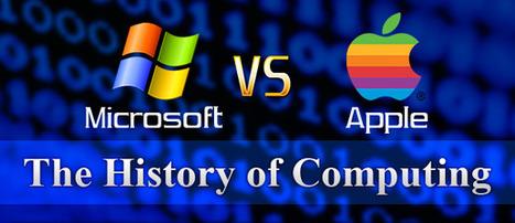 Mac vs PC, histoire d'une rivalité en une infographie ★ Blog du modérateur | infographies | Scoop.it