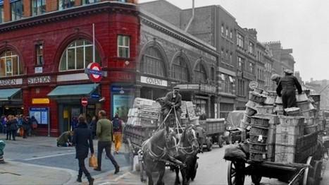 Lanzan una app que fotografía el pasado y presente de Londres | houtinee | Scoop.it