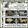 Vintage Designer Jewels
