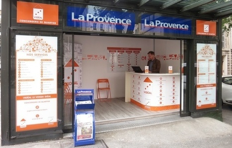 Marseille: Des kiosques à journaux fermés deviennent des conciergeries | Hub of Retail | Scoop.it