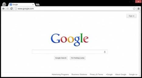 Google : la barre de navigation en sursis?   Geeks   Scoop.it