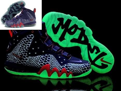 Nike Barkley Posite Max Shoes Glow In The Dark Purple Red Hot Sale Online   Cheap Glow In The Dark Adidas Online   Scoop.it