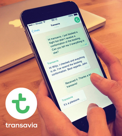 Transavia, primera low cost en informar a pasajeros españoles por WhatsApp   Turismo & Viajes   Scoop.it